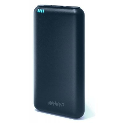 Внешний аккумулятор для портативных устройств HIPER SP20000 синий (SP20000 DARK BLUE) внешний аккумулятор для портативных устройств hiper sp20000 синий sp20000 dark blue