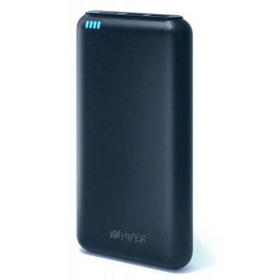 Внешний аккумулятор для портативных устройств HIPER SP20000 синий (SP20000 DARK BLUE)Внешние аккумуляторы для портативных устройств HIPER<br>Мобильный аккумулятор Hiper SP20000 Li-Ion 20000mAh 2.1A+1A синий 2xUSB<br>