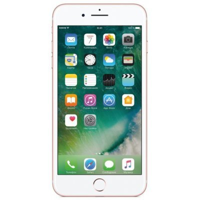 Смартфон Apple iPhone 7 Plus 32Gb Розовое золото (MNQQ2RU/A) смартфон apple iphone 7 plus 32gb mnqm2ru a черный