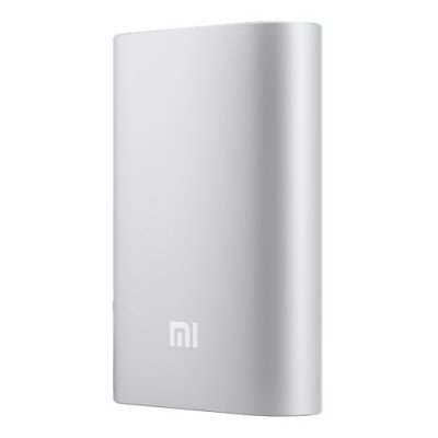 Внешний аккумулятор для портативных устройств Xiaomi NDY-02-AN (NDY-02-ANSILVER)Внешние аккумуляторы для портативных устройств Xiaomi<br>Аккумулятор USB 10000MAH MI SILVER OR NDY-02-AN XIAOMI<br>