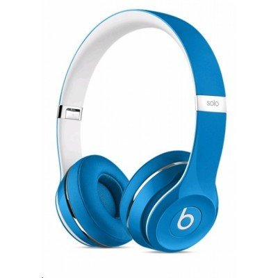 Наушники Beats Solo 2 Luxe Edition голубой (ML9F2ZE/A)Наушники Beats<br>Конструкция: мониторные (оголовье), тип: проводные, цвет: голубой, длина провода: 1.36 м (ML9F2ZE/A)<br>