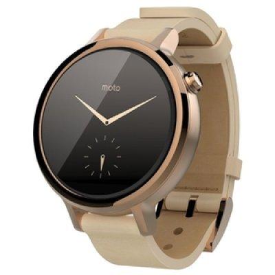 Умные часы Motorola Moto 360S 42mm Ladies розовое золото (SM4347AS6T1)Умные часы Motorola<br>Qualcomm Snapdragon 400 APQ 8026/4GB/512GB/WiFi/BT<br>