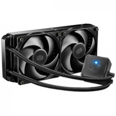 Кулер для процессора CoolerMaster Seidon 240V (RL-S24V-24PK-R1)Кулеры для процессоров CoolerMaster<br>для процессора, СВО, Socket 775, 1150, 1151, 1155, 1156, 1366, 2011, 2011-3, AM2, AM2+, AM3, AM3+, FM1, FM2, FM2+, 120x120 мм, 800-2400 об/мин, алюминий<br>