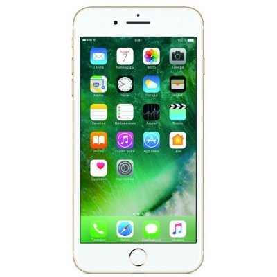 Смартфон Apple iPhone 7 Plus 32Gb (MNQP2RU) Gold (Золотой) (MNQP2RU) телефон apple iphone 7 32gb a1778 как новый black
