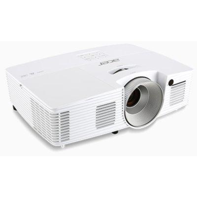 Проектор Acer X135WH (MR.JNA11.001)Проекторы Acer<br>портативный широкоформатный проектор<br>технология DLP<br>поддержка 3D<br>поддержка HDTV<br>разрешение 1280x800<br>световой поток 3400 лм<br>контрастность 20000:1<br>подключение по VGA (DSub), HDMI<br>вес 2.5 кг<br>