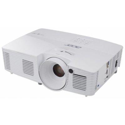 Проектор Acer X117H (MR.JP211.001)Проекторы Acer<br>портативный широкоформатный проектор<br>технология DLP<br>поддержка 3D<br>поддержка HDTV<br>разрешение 800x600<br>световой поток 3600 лм<br>контрастность 20000:1<br>подключение по VGA (DSub), HDMI<br>вес 2.5 кг<br>