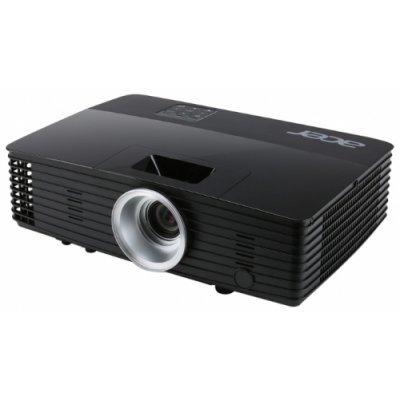 Проектор Acer P1285B (MR.JM011.00F)Проекторы Acer<br>портативный проектор<br>технология DLP<br>поддержка 3D<br>разрешение 1024x768<br>световой поток 3200 лм<br>контрастность 20000:1<br>подключение по VGA (DSub), HDMI<br>подключение к сети Ethernet<br>вывод изображения с USB-флэшек<br>вес 2.3 кг<br>