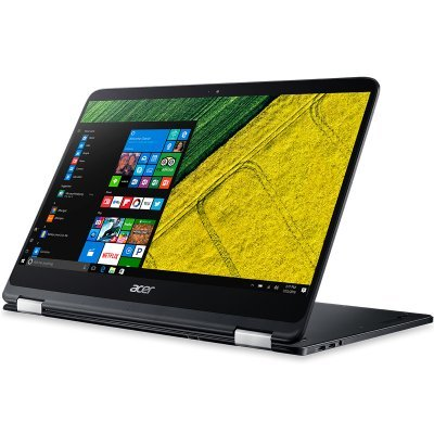Ультрабук-трансформер Acer Aspire SP714-51-M5DV (NX.GKPER.002) (NX.GKPER.002)Ультрабуки-трансформеры Acer<br>Ультрабук Acer Aspire SP714-51-M5DV Core i7 7Y75/8Gb/SSD256Gb/Intel HD Graphics/14/FHD (1920x1080)/Windows 10/black/WiFi/BT/Cam/4mAh<br>