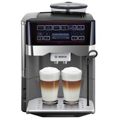 Кофеварка Bosch TES 60523 RW (TES60523RW)Кофеварки Bosch<br>Кофемашина Bosch VeroAroma TES60523RW 1500Вт серебристый<br>