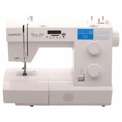 Швейная машина Comfort Music 360 белый (COMFORT MUSIC 360) швейная машина comfort 250 белый розовый comfort 250