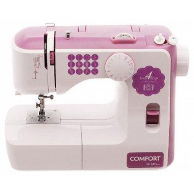 Швейная машина Comfort 210 белый (COMFORT 210) швейная машина comfort 250 белый розовый comfort 250