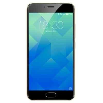 Смартфон Meizu M5 32Gb золотистый (M611H_32GB_Gold)Смартфоны Meizu<br>смартфон, Android 6.0<br>поддержка двух SIM-карт<br>экран 5.2, разрешение 1280x720<br>камера 13 МП, автофокус, F/2.2<br>память 32 Гб, слот для карты памяти<br>3G, 4G LTE, LTE-A, Wi-Fi, Bluetooth, GPS, ГЛОНАСС<br>объем оперативной памяти 3 Гб<br>аккумулятор 3070 мА/ч<br>вес 138 г, ШxВxТ 72.80x147.20x8 мм<br>