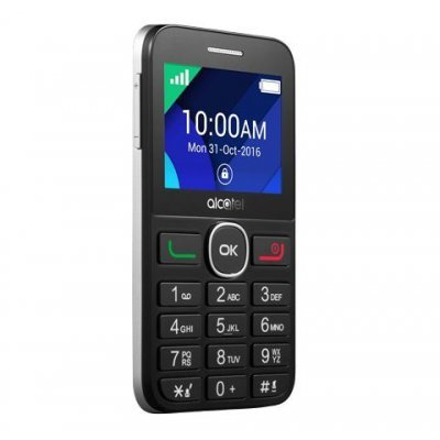 Мобильный телефон Alcatel Tiger XTM 2008G серебристый (2008G-3BALRU1) мобильный телефон alcatel onetouch 2008g black white