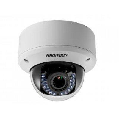 Камера видеонаблюдения Hikvision DS-2CE56D5T-AVPIR3Z (DS-2CE56D5T-AVPIR3Z)Камеры видеонаблюдения Hikvision<br>Разрешение 2Мп<br>Вариообъектив 2.8-12мм<br>Аппаратный WDR 120дБ, BLC, 3D DNR, Smart ИК<br>OSD-меню<br>Обнаружение движения<br>ИК-подсветка до 40м<br>Широкий температурный диапазон: -40°C…+60°C<br>HD-TVI и CVBS выход<br>IP66, IK10<br>Питание DC12В/АС24В<br>
