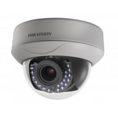 Камера видеонаблюдения Hikvision DS-2CE56D5T-AIRZ (DS-2CE56D5T-AIRZ)Камеры видеонаблюдения Hikvision<br>Разрешение 2Мп<br>Моторизированный вариообъектив 2.8-12мм<br>Аппаратный WDR 120дБ, BLC, 3D DNR, Smart ИК<br>OSD-меню<br>Обнаружение движения<br>ИК-подсветка до 30м<br>HD-TVI и CVBS выход<br>Питание DC12В/AC24B<br>