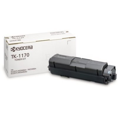 Тонер-картридж для лазерных аппаратов Kyocera TK-1170 (1T02S50NL0)Тонер-картриджи для лазерных аппаратов Kyocera<br>для Kyocera M2040dn, M2540dn, M2640idw<br>