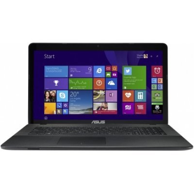 Ноутбук ASUS X751SA-TY165T (90NB07M1-M03120) (90NB07M1-M03120)Ноутбуки ASUS<br>Pentium N3710 /4GB /DVD-RW/500GB/17,3 HD+/NV810M 1GB/Win10<br>