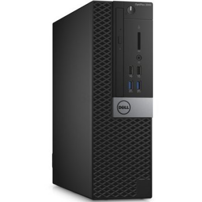Настольный ПК Dell Optiplex 3046 SFF (3046-0155) (3046-0155)Настольные ПК Dell<br>i5-6500 (3,2GHz) / 4GB (1x4GB) DDR4 / 500GB (7200 rpm) / Intel HD 530 / Linux / TPM /<br>