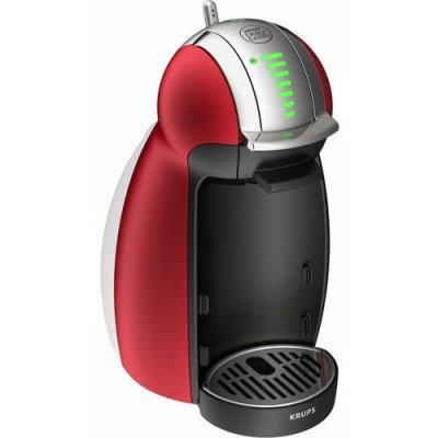 Кофемашина Krups Dolce Gusto KP160T10 красный (8000035015)Кофемашины Krups<br>Кофемашина Krups Dolce Gusto KP160T10 1600Вт красный<br>
