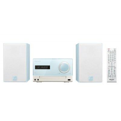 Аудио микросистема Pioneer X-CM35-L голубой (X-CM35-L)