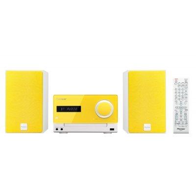 Аудио микросистема Pioneer X-CM35-Y желтый (X-CM35-Y)