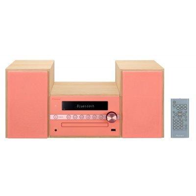 Аудио микросистема Pioneer X-CM56-R красный (X-CM56-R)Аудио микросистемы Pioneer<br>Микросистема Pioneer X-CM56-R красный 30Вт/CD/CDRW/FM/USB/BT<br>