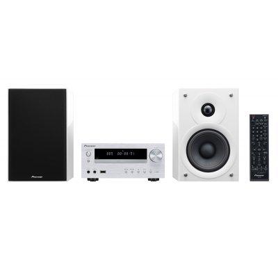 Аудио микросистема Pioneer X-HM51-W белый (X-HM51-W)Аудио микросистемы Pioneer<br>Микросистема Pioneer X-HM51-W белый 100Вт/CD/CDRW/FM/USB/BT<br>