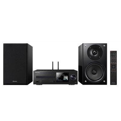 Аудио микросистема Pioneer X-HM86D-B черный (X-HM86D-B)Аудио микросистемы Pioneer<br>Микросистема Pioneer X-HM86D-B черный 130Вт/CD/CDRW/FM/USB/BT<br>