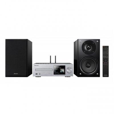 Аудио микросистема Pioneer X-HM86D-S серебристый/черный (X-HM86D-S)Аудио микросистемы Pioneer<br>Микросистема Pioneer X-HM86D-S серебристый/черный 130Вт/CD/CDRW/FM/USB/BT<br>