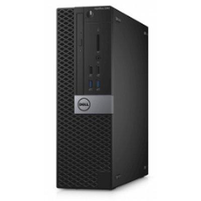 Настольный ПК Dell Optiplex 3046 SFF (3046-0148) (3046-0148)Настольные ПК Dell<br>ПК Dell Optiplex 3046 SFF i3 6100 (3.7)/4Gb/500Gb 7.2k/HDG530/DVDRW/Windows 7 Professional 64 +W10Pro/Eth/240W/клавиатура/мышь/черный/серебристый<br>