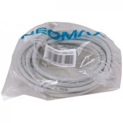 Кабель Patch Cord Neomax литой UTP 6 level 5m гибкий медный (NM13601050)Кабели Patch Cord Neomax<br>Патч-корд литой Neomax UTP 6 level 5m гибкий медный<br>