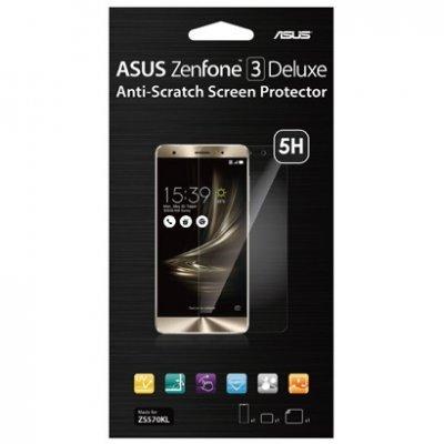 Пленка защитная для смартфонов ASUS для ZenFone 3 Deluxe ZS570KL прозрачная (90XB03CA-BSC030) аксессуар защитная пленка asus zenfone live zb553kl luxcase суперпрозрачная 55823