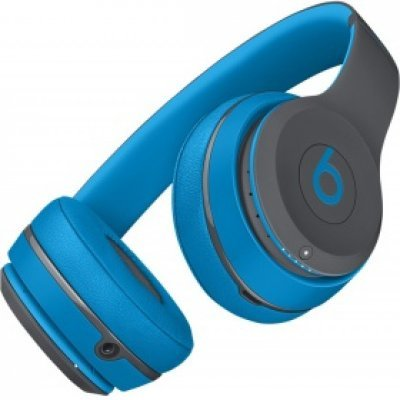 Bluetooth-гарнитура Beats Solo2 Wireless SE2 Active Collection голубой (MKQ32ZE/A)