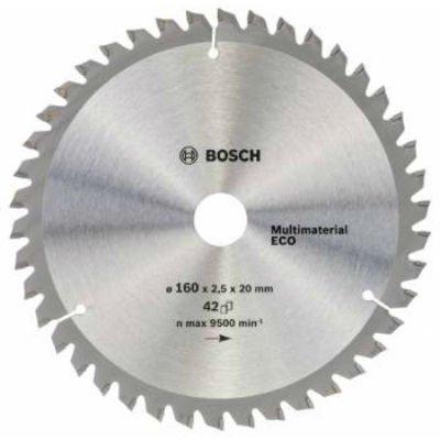 Пильный диск Bosch 2608641800 универсальный (2608641800)Пильные диски Bosch<br>Пильный диск универсальный Bosch 2608641800 d=160мм d(посад.)=20мм (циркулярные пилы)<br>