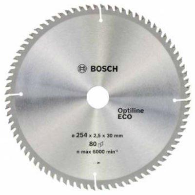 Пильный диск Bosch 2608641796 по дереву (2608641796)Пильные диски Bosch<br>Пильный диск по дереву Bosch 2608641796 d=254мм d(посад.)=30мм (циркулярные пилы)<br>