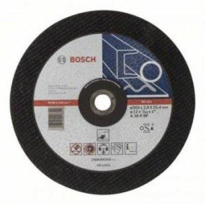 Пильный диск Bosch 2608600542 по металлу (2608600542)Пильные диски Bosch<br>Отрезной диск по металлу Bosch 2608600542 d=300мм d(посад.)=25.4мм (угловые шлифмашины)<br>