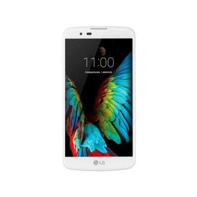 Смартфон LG K10 LTE K430ds 16Gb белый (LGK430DS.ACISWHA)Смартфоны LG<br>Смартфон LG K10 LTE K430ds 16Gb белый моноблок 3G 4G 2Sim 5.3 720x1280 Android 6.0 13Mpix 802.11bgn BT GSM900/1800 GSM1900 TouchSc MP3 A-GPS microSD max32Gb<br>