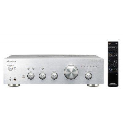 Усилитель аудио Pioneer A-20 серебристый (A-20-S)Усилители аудио Pioneer<br>Усилитель мощности Pioneer A-20-S стерео полупроводниковый серебристый<br>