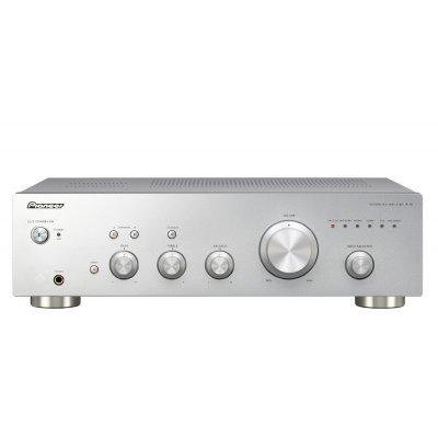 Усилитель аудио Pioneer A-10-S серебристый (A-10-S) pioneer momo водонепроницаемые беспроводные стерео колонки