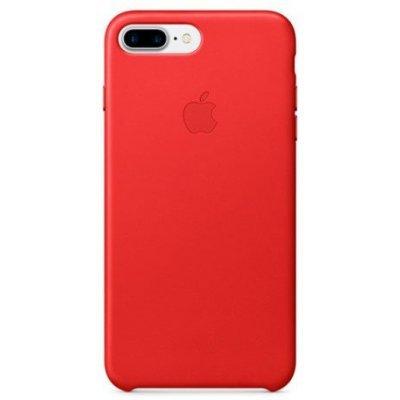 Чехол для смартфона Apple iPhone 7 Plus Leather Case красный (MMYK2ZM/A)Чехлы для смартфонов Apple<br>Apple iPhone 7 Plus Leather Case<br>