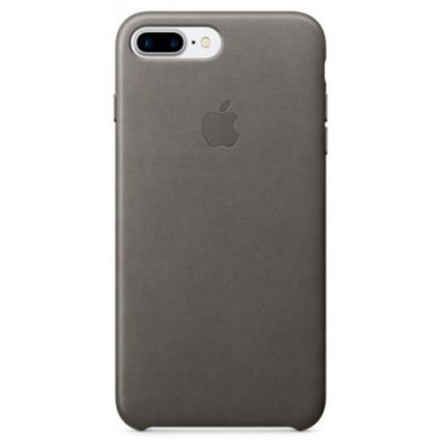 Чехол для смартфона Apple iPhone 7 Plus Leather Case ?Storm Gray (MMYE2ZM/A)