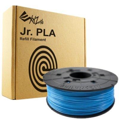Пластик PLA XYZ для Junior, синий 1.75 мм/600гр (4715872745602) (RFPLCXEU0DB)Пластик PLA XYZ<br>PLA пластик XYZ, сменная катушка для Junior, синий 1.75 мм/600гр<br>