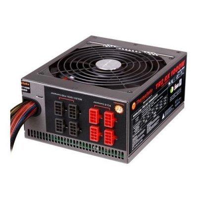 Блок питания ПК Thermaltake TR2 RX 1000W (TRX-1000MPCEU-A)Блоки питания ПК Thermaltake<br>блок питания ATX мощностью 1000 Вт<br>стандарт ATX12V 2.3 / EPS12V<br>охлаждение: 1 вентилятор (140 мм)<br>вентилятор 1800 об/мин<br>отстегивающиеся кабели<br>размеры (ВxШxГ) 86x150x180 мм<br>