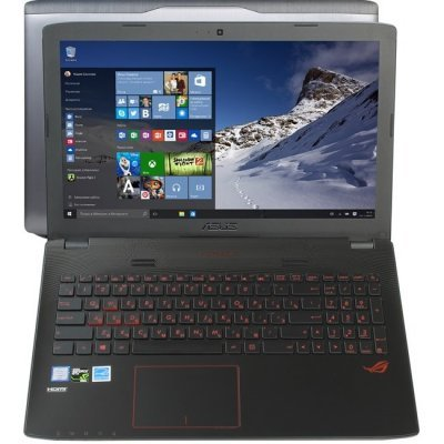 Ноутбук ASUS ROG GL552VW-CN678T (90NB09I1-M08250) (90NB09I1-M08250)Ноутбуки ASUS<br>15.6(1920x1080 (матовый))/Intel Core i7 6700HQ(2.6Ghz)/16384Mb/1000Gb+256SSD/DVDrw/Ext:nVidia GeForce GTX960M(4096Mb)/Cam/BT/WiFi/50WHr/war 1y/2.6kg/black/W10<br>