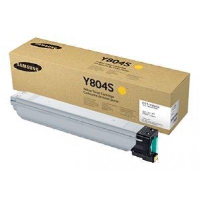 Тонер-картридж для лазерных аппаратов Samsung CLT-Y804S/SEE Yellow (CLT-Y804S/SEE)Тонер-картриджи для лазерных аппаратов Samsung<br>Yellow Toner Cartridge SL-X3280NR<br>