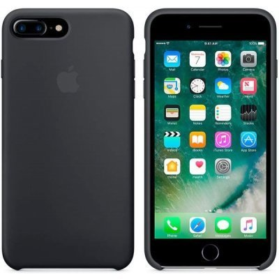 Чехол для смартфона Apple iPhone 7 Plus Silicone Case черный (MMQR2ZM/A)Чехлы для смартфонов Apple<br>чехол для iPhone 7 Plus, чёрный<br>