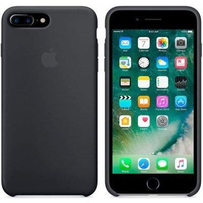 Чехол для смартфона Apple iPhone 7 Plus Silicone Case черный (MMQR2ZM/A)