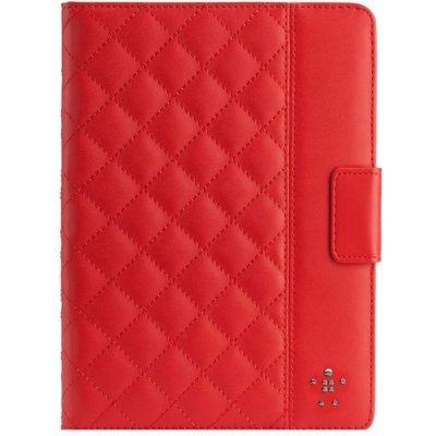 Чехол для планшета Belkin Apple iPad Air Quilted Cover Ruby (F7N073B2C02)Чехлы для планшетов Belkin<br>Чехол для iPad Air Quilted Cover, Ruby<br>
