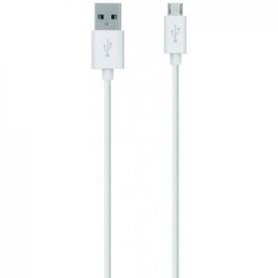 Кабель USB Belkin F2CU012bt2M-WHT белый 2м (F2CU012bt2M-WHT)
