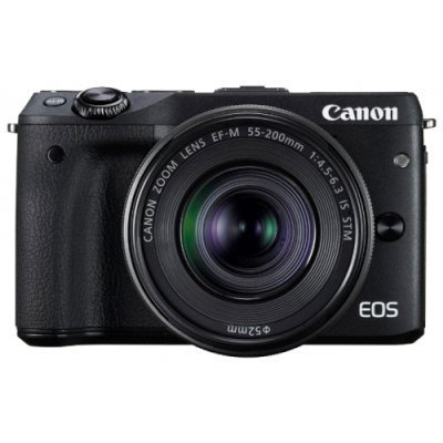 Цифровая фотокамера Canon EOS M3 Kit 15-45 IS STM (9694B142) фотоаппарат canon eos m10 kit 15 45 is stm white